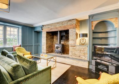 The first living area at Padstow House, Padstow