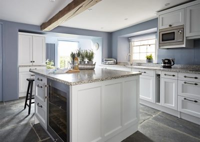The kitchen at Padstow House, Padstow