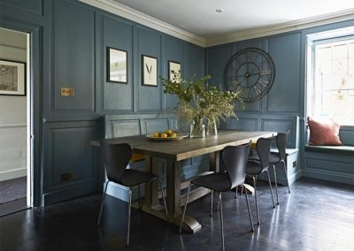 The dining area at Padstow House, Padstow