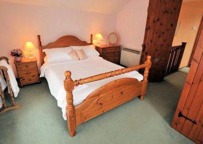 Bedroom #1 @ Park Mill Farm Cottage