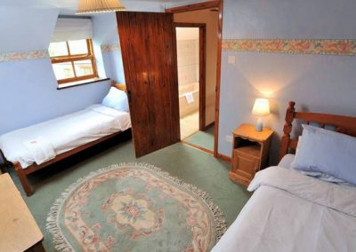 Bedroom #2 @ Park Mill Farm Cottage