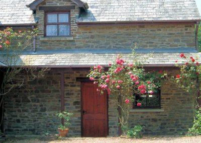 Outside Park Mill Farm Cottage
