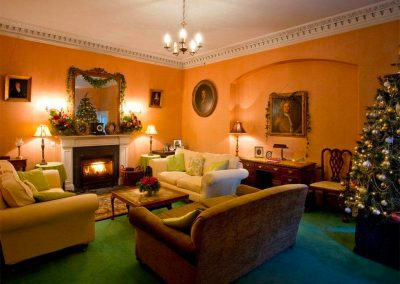 The drawing room at Parnacott, Chilsworthy