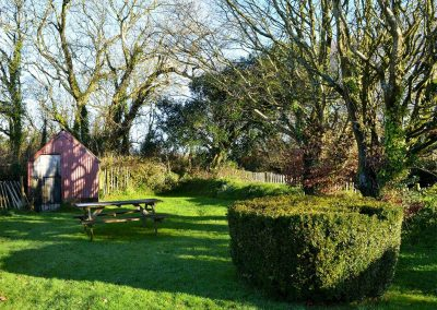 The garden at Parsley Cottage, Clawton