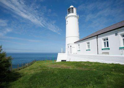 The garden at Trevose Head Lighthouse, Trevose