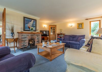 The living area at Penhayle, Roserrow, Polzeath