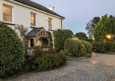 The entrance to Penlaurel, Daws House