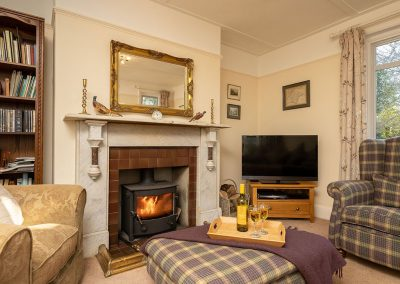The living area at Pentire, Marldon