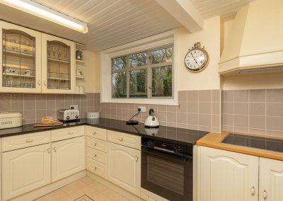 The kitchen at Pentire, Marldon