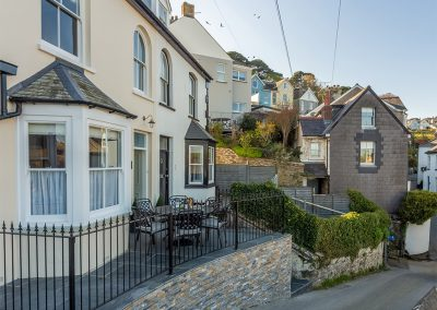 Outside Place View, Fowey