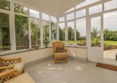 The conservatory at Polstein, Threemilestone