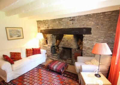 The cozy snug at Poocks Cottage, Oare