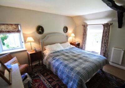 Bedroom #1 at Poocks Cottage, Oare