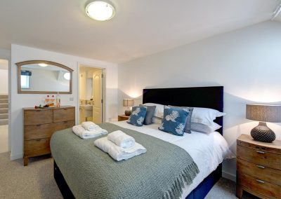 Bedroom #1 at Porth House, Mawgan Porth
