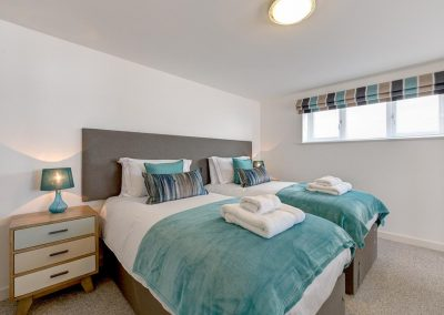 Bedroom #2 at Porth House, Mawgan Porth