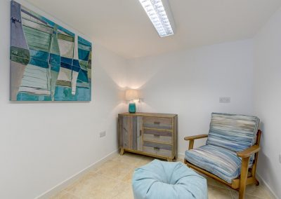 Bedroom #3 at Porth House, Mawgan Porth