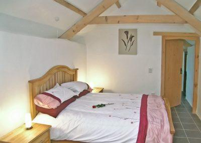 Bedroom #3 at Proper Job, Higher Churchtown Farm, Tresmeer