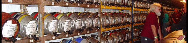 The Victorian complex housing Tuckers Maltings is a most appropriate venue for the Tuckers Maltings Beer Festival. Sip as many of the 260 beers as you can in this 3-day event, which also features foot-tapping live music and hot food.