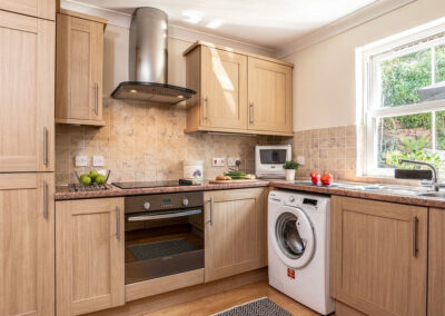 The kitchen at Redsands, Paignton
