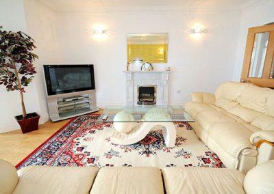 The living room @ Riviera Apartment, Torquay