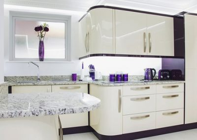 The kitchen @ Riviera Mews, Torquay