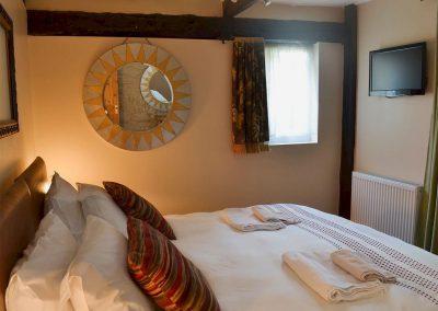 Bedroom #1 at Robin Cottage, Brixham