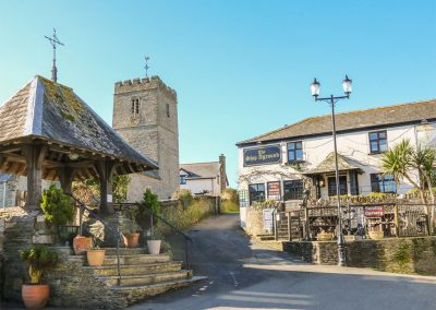 The village of Mortehoe can trace its origins back to the Doomsday book and beyond.