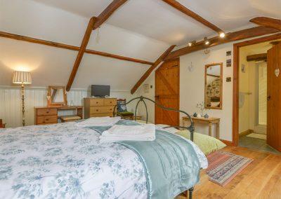 Bedroom #1 at Rockmead, Lettaford