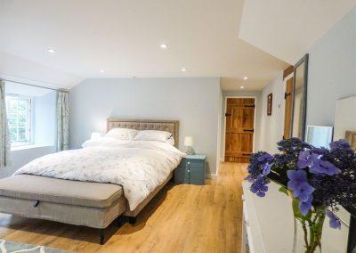 Bedroom #2 at Ros Vale, St Buryan