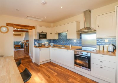 The kitchen at Rose Cottage, Goodleigh