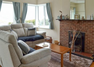 The living area at Rosehill, Goodrington