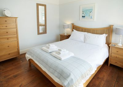 Bedroom #1 at Round Island, Lizard Lighthouse, Lizard