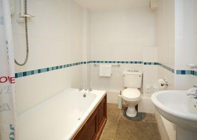 The bathroom at Round Island, Lizard Lighthouse, Lizard