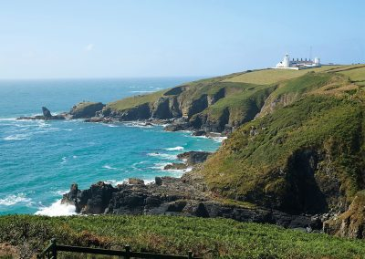 The coast & countryside surrounding Lizard Lighthouse, Lizard