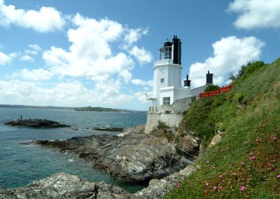 Sally Port Cottage at St Anthony's Lighthouse is situated at the furthest point of the beautiful Roseland Peninsula
