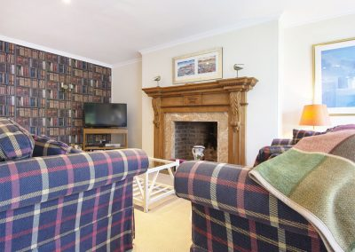 The sitting room at Sandridge Barton, Sandridge