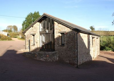 The games barn at Sandridge Barton, Sandridge