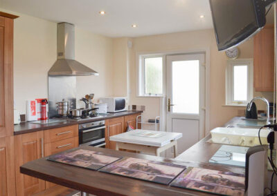 The kitchen at Sandringham Heights, Paignton