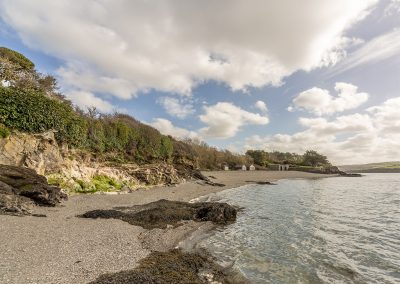 The shared private beach at Schoopers, Porthilly