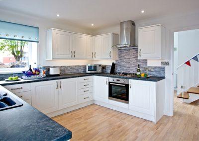 The kitchen @ Sea Salt Lodge, Torquay