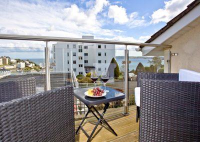 The balcony @ Sea Salt Lodge, Torquay