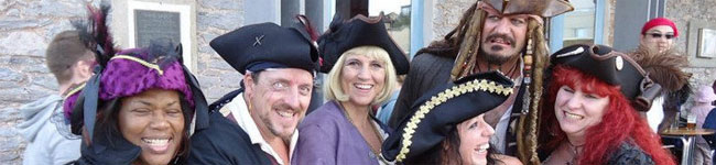 The first of two great festivals celebrated in Brixham in May, The Brixham Pirate Festival is a three-day event of pirate-themed fun on the harbour.