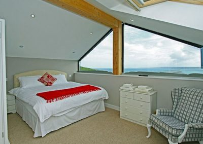 Bedroom #1 at Sea View House, Newquay