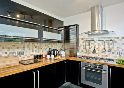 The kitchen at Seaforth, Mevagissey