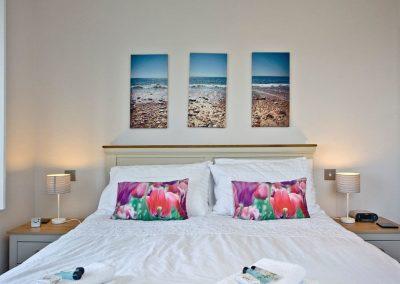 Bedroom #2 at Seaforth, Mevagissey