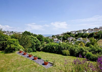 The garden at Seaforth, Mevagissey