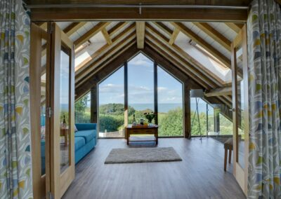 Bedroom #1 at Seaglass, Watermouth