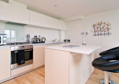 The kitchen @ Seashells, 43 Zinc, Newquay
