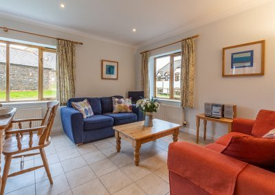 The second living area at September Cottage, Roserrow, Polzeath