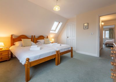 Bedroom #3 at September Cottage, Roserrow, Polzeath